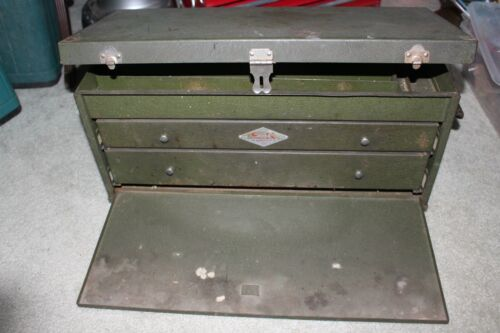 Vintage SK Tools 2 Drawer Machinist Chest Tool Box