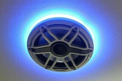 Ang 2pc LED Speaker Rings para sa JL Audio Marine 6.5