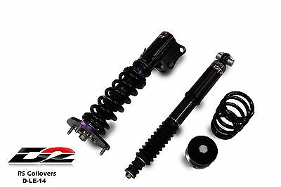D2 Racing RS Coilovers LEXUS CT200H CT 200 HYBRID 36 WAY ADJUSTABLE PURPLE