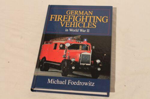 Book German Firefighting Vehicles in World War II