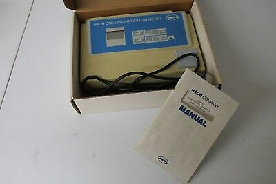 Hach One Laboratory Ph Meter 44701 With Instruction Manual