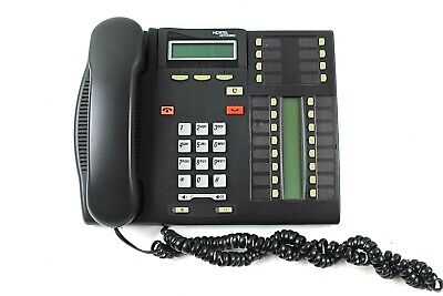11 Pc Lot Nortel Networks T7316 Charcoal Multi Line Business Telephone A0835725