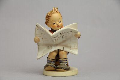 Hummel Goebel 184 Latest News 5 1 8  Tmk6 Newspaper Mint Excellent Pretty Cute
