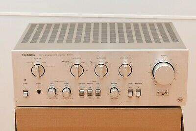 Technics SU-V6 Class A Vintage Hi Fi MM & MC Phono Stage Stereo Amplifier Amp