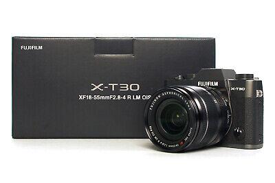 Fujifilm X-T30 anthrazit Kit XF 18-55mm F/2.8-4 B-Ware/ DEMO Modell Fachhändler