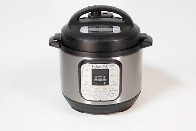 Instant Pot Duo Mini 10-in-1 Electric Slow Pressure Cooker 3 Quart Silver