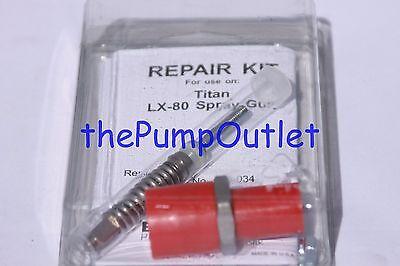 Quality Aftermarket Titan Lx-80 Spray Gun Repair Kit 580-034 580034 Made In Usa