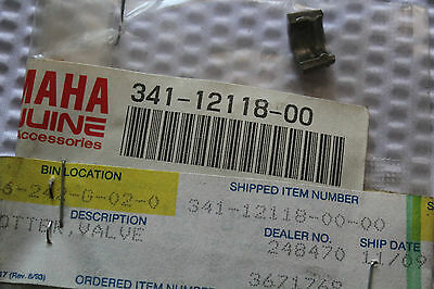 <em>YAMAHA</em> SR500 XS650 COTTER VALVE GENUINE OEM 341 12118 00