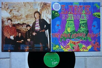 LIME SPIDERS ‎– The Cave Comes Alive LP Gatefold Klappcover Virgin VOZ 2006 MINT