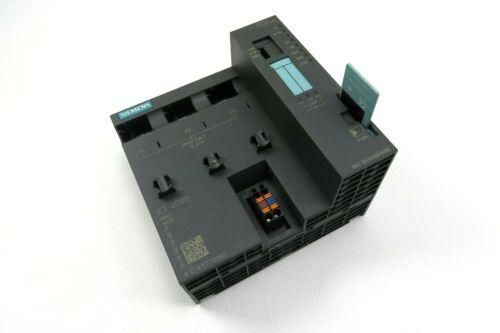 Siemens 6ES7 151-8AB00-0AB0 ET 200S CPU Interface Module w/ Micro Memory Card