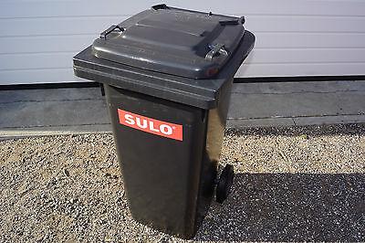 SULO Mülltonne 120L grau (anthrazit/schwarz) Abfalltonne