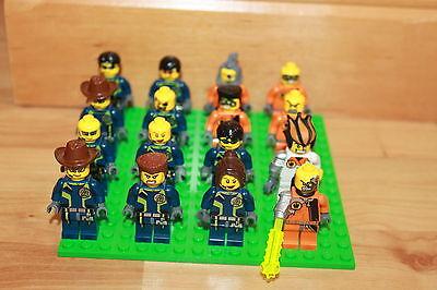 Lego Agents - 16 Figuren u.a. Agent Chase, Fuse, Charge, Fist Set 8630 8631 8635