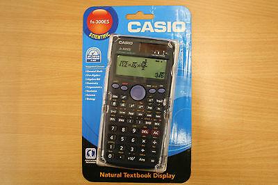 Casio FX-300ES Scientific Calculator Algebra ,Geometry,Biology, Brand New