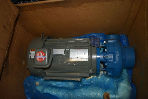 Scot Centrifugal Pump Motorpump 55 Bronze Fitted  3x3 3089K266 US Motors 10 HP