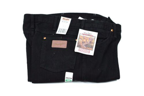WRANGLER Black Shadow Canyon Vintage USA Cowboy Cut Jeans NWT