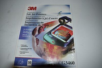 ^^ 3M Película de la Transparencia para Impresoras Inkjet CG3460 - Nuevo...