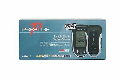 NEW Audiovox Prestige APS997Z 2-Way Car Remote Start and Alarm Security 1 Mile