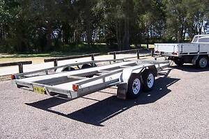 CAR TRAILER - GALVANISED Long Jetty Wyong Area Preview