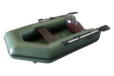 FISH 210 grün Schlauchboot mit Lattenboden, 1100 Dtex
