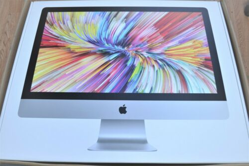 """Apple 27"""" Imac Retina 5k Display Mxwt2ll/a Intel I5 Amd 5300 256gb Sealed Box!"""