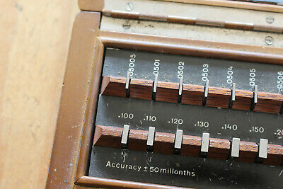 36 Pc Gage Block Set Made In Germany