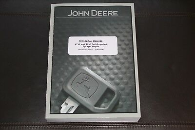 John Deere 4730 4830 Self-propelled Sprayer Service Repair Manual Tm2368