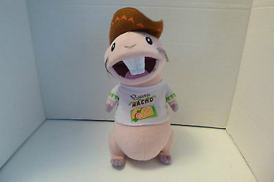 Disney Kim Possible Talking Rufus Plush Stuffed Animal Bueno Nacho Shirt 11""