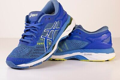 Asics Gel Kayano 24 Running Shoes Women's Size 8 Blue/Green (T799N)