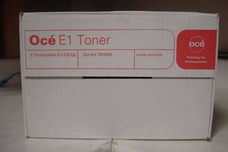 Oce E1 7015598 / 1070015900 Black Toner Cartridge 9700