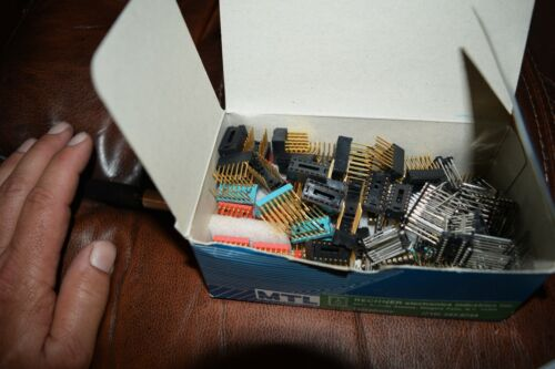 BOX FULL WIRE WRAP SOCKETS ASSORTED SIZES ALL NEW AROUND 65 TOTAL
