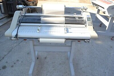 Gbc Discovery 80 High Speed 31 Heat Shoe Laminator Stand Used
