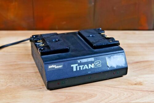 Anton Bauer Titan 2 Gold Mount Dual Battery Charger