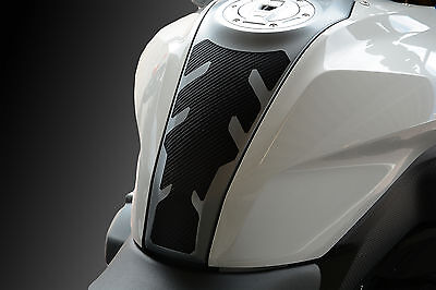 Für BMW R1200RS LC ab 2015- Tankpad Tankcover carbonlook schwarz