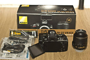 New in Box  Nikon D5100 16.2 MP Digital SLR Camera (Kit w/ AF-S 18-55mm VR Lens)