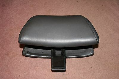Used, Classic Saab 900 Convertible Light Gray Leather Front Seat Head Rest for sale  Shipping to Ireland