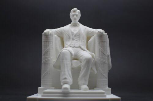 Lincoln Memorial Monument Replica Sculpture Art DC