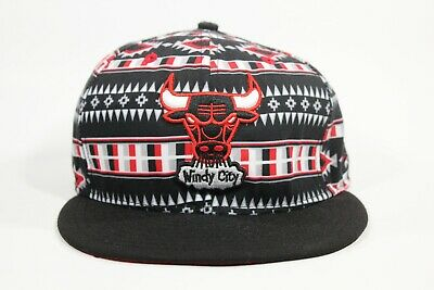 CHICAGO BULLS Windy City New Era 9 Fifty SNAPBACK Hardwood Classics Aztec