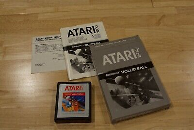 REALSPORTS VOLLEYBALL for ATARI 2600, complete in box, instructions