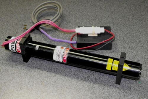 Helium Neon Laser with Power Supply and Mounting Brackets