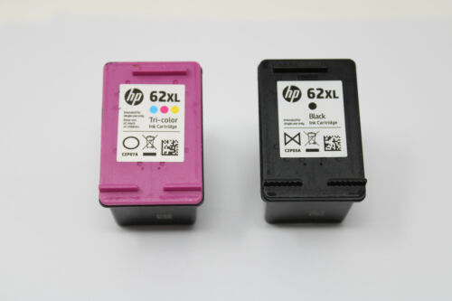 7x Genuine HP Empty Black & Color Ink Cartridges (NO INK) Virgin Never Refilled