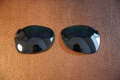Polarlens Polarisiert Schwarz Ersatz Linse für Oakley Crosshair 2012