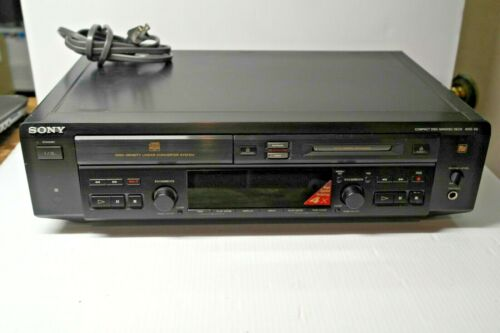 Working! Sony MXD-D3 Compact Disc - Minidisc Recorder Deck No Remote
