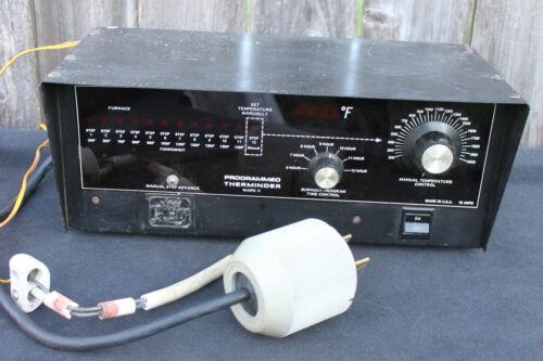 Programmed Therminder Mark II Digital Kiln Temperature Controller