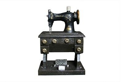 Adult Piggy Bank (Vintage Sewing Machine Adult Piggy Bank | Decorative Sewing Machine Coin Holder)
