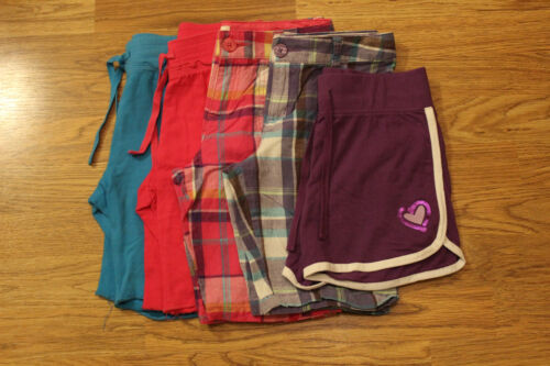 LOT of 5 Girls Shorts Size 10/12 (Total Girl, SO)