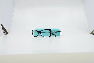 Tiffany & Co. Women's Rectangular Black/Blue Glasses w/ Case TF 2106 8055 (Tiffany And Co Prescription Glasses)