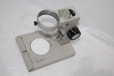 Stereo Microscope Track Stand Focus Knobs 76mm Body Holder For Nikon Smz-2b