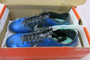 29ad736e3fc Nike Mercurial Vapor IX CR7 Ronaldo Galaxy Blue Soccer Cleats New ...