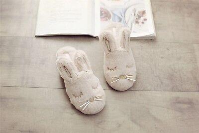 Elliz Women's Snuggle Bunny Velvet Plush Indoor Animal - Bunnie Slippers