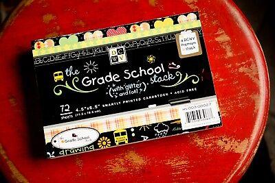 NEW DCWV The Grade School Mat Stack Mats 4.5 x 6.5
